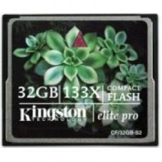 Карта памяти Compact Flash Kigston 16Gb 133x
