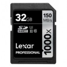 Карта памяти SDHC Lexar 32Gb 150 MB/s Professional