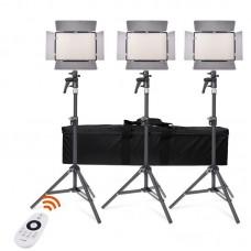 Комплект светодиодных панелей Samtian TL-600A 2.4G Bi-Color